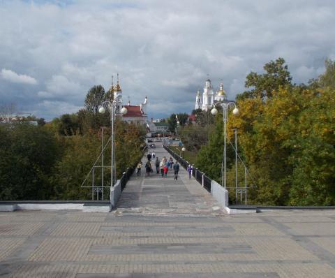 Витебск: мост Тысячелетия