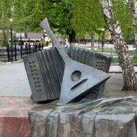 Воронеж: это не памятник балалайке и баяну