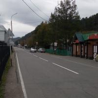 Листвянка, дорога на Иркутск