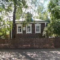 Дом родителей и самого Сергея Есенина
