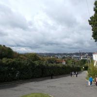 Вид с вершин Успенского храма