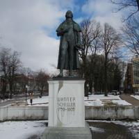 Иоганн Кристоф Фридрих фон Шиллер на Театральной площади