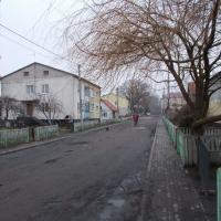 Центр посёлка Рыбачий: улица Победы