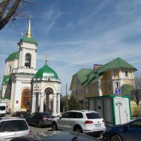 Воскресенский храм, а у входа общественный туалет (я ведь уже говорил, что Воронеж - город контрастов)