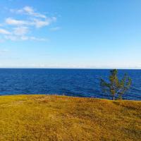 Небо, озеро, счастье...