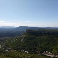 Вид на Кыз-Кермен
