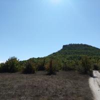 Тепе-Кермен, вид с севера