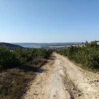 Такая дорога будет большую часть пути, если отправиться в Тепе-Кермен из Бахчисарая