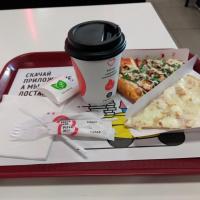 Чтобы жизнь сладкой казалась, к стаканчику чая в «Pizza Mia» прилагают аж три порции сахара
