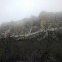 Качи-Кальон в утреннем тумане