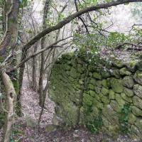 Оборонительная стена Мангуп-Кале
