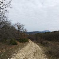 Дорога от Залесного (и Ходжа-Сала) до Эски-Кермен