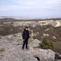 Западная панорама с Эски-Кермен