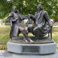 Драматург и композитор за светской беседой