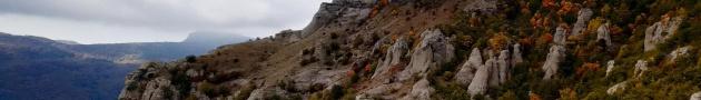 Долина Приведений, главная достопримечательность Алушты
