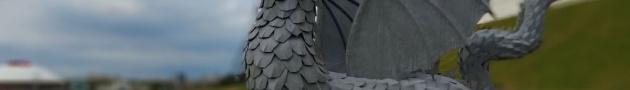 Дракон Зилант у Казанского кремля