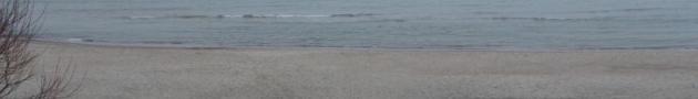 Куршская коса, Балтийское море